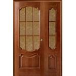 Дверь полуторная Престиж Каштан